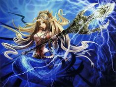 Anime Elf, Anime Monsters, Anime Mermaid, Mermaid Art, Anime Girl Dress, Anime Girls, Mermaids And Mermen, Wattpad, Merfolk