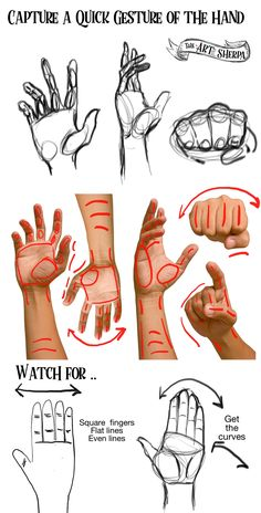 How to Draw Hand better with The Art Sherpa- patron peek