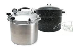 Water Bath vs. Pressure Canning - How to Choose ~ via www.PioneerDad.com/preserve/basics-of-preserving/water-bath-vs-pressure-canning-how-to-choose/