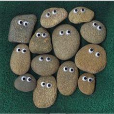 """Googly Eyes Rock Friends ("""",)"""