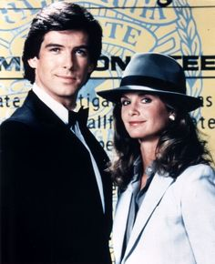 Remington Steele (1982) | Stephanie Zimbalist, Pierce Brosnan