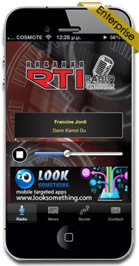 New iphone application (Enterprise edition) for RTI Radio in Germany