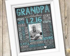 Father's Day Gift for Grandpa  First Time Grandpa by SubwayStyle