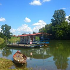 Raft on river Kupa is one of the attractions with the goal to show the beauty of riverside way of living and landscape.
