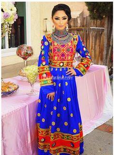 #afghani #dress #blue Mehr