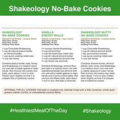 Shakeology No Bake Cookies Recipes