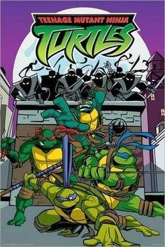 Teenage Mutant Ninja Turtles Cartoon Poster 24 X 36 457 on eBay!