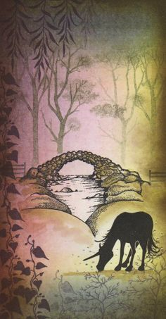 Lavinia stamps - Woodlands