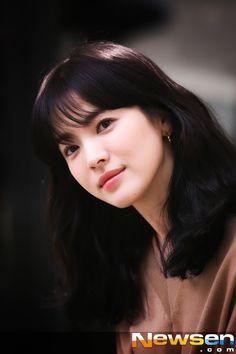 송혜교 머리스타일