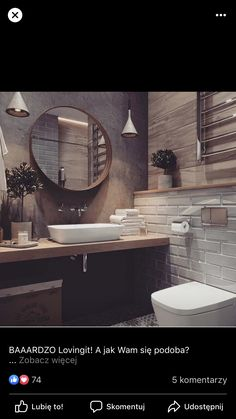 Fascinating bathroom design decor ideas refresh your mind Beautiful Bathrooms, Modern Bathroom, Small Bathroom, Downstairs Bathroom, Bathroom Renos, Bad Inspiration, Bathroom Inspiration, Bathroom Interior Design, Home Deco