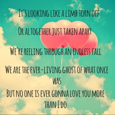 I love this song and this band. I'm so sad I will miss them at the Ryman. Band of Horses