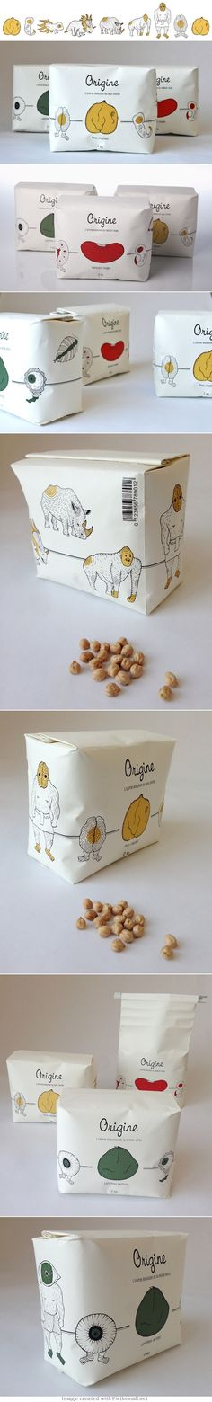 Just when you think you have seen the cutest #nut #packaging along comes some more curated by Packaging Diva PD - created http://www.experimenta.es/noticias/breves/origine-packaging-maha-rabiyi