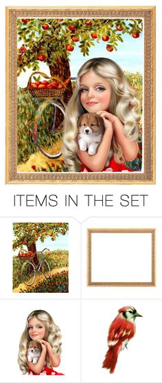 """The Apple Tree"" by barbarapoole ❤ liked on Polyvore featuring art"