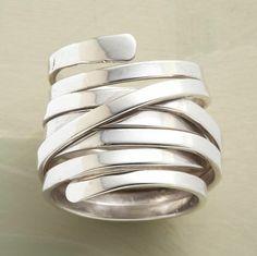 WRAPAROUND RING - Band - Rings - Jewelry / Robert Redford's Sundance Catalog (fashion,jewelry)