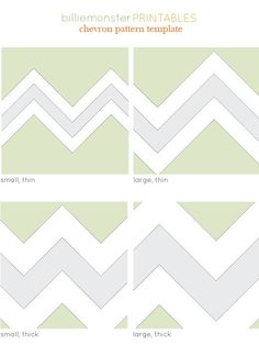 chevron pattern printable templates. handy.