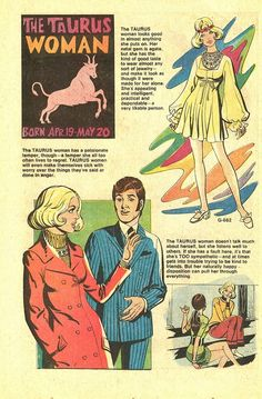 The Taurus Woman, 70s style