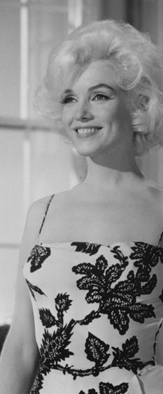 Marilyn during costume tests for Something's Got To Give, 1962.