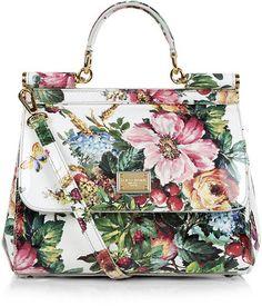 Dolce & Gabbana Miss Sicily Mediterranean Floral Bag - Lyst
