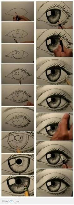 How to draw eyes | SWAGCT #Eyes by Keunsup Shin
