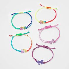 Girls' 5pk Unicorn BFF Bracelet Set - Cat & Jack , Women's, MultiColored