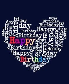 Send Free Happy Birthday Heart Card to Loved Ones on Birthday & Greeting Cards by Davia. It's free, and you also can use your own customized birthday calendar and birthday reminders. Happy Birthday Hearts, Birthday Wishes For Her, Happy Birthday Wishes Quotes, Happy Birthday Pictures, Birthday Wishes Cards, Birthday Love, Birthday Greeting Cards, Birthday Quotes, Humor Birthday