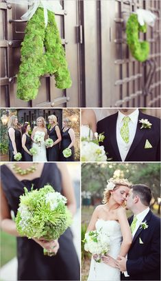 Love the color combo and use of accents to make the wedding pop!