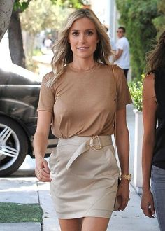 Kristin Cavallari is spotted out and about with a friend in West Hollywood.