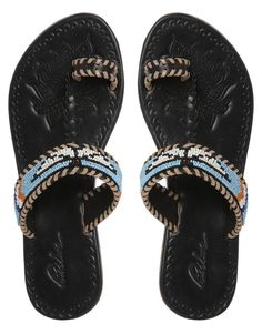 Pin for Later: Beat the Heat With 99 Cool-Girl Style Finds — All Under $100 Park Lane Bead Sandals Channel the Southwest-cool vibe with these beautifully beaded sandals ($46, originally $61).