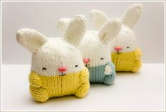 Let's hear it for the toys! Hand knitted soft toys by Y0ommi! | KID independent – handmade for kids