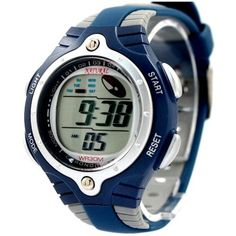 DW216MA GrayWatchcase Alarm BackLight Blue Bezel Water Resist Mens Digital Watch