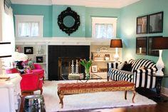 living room styled lovely