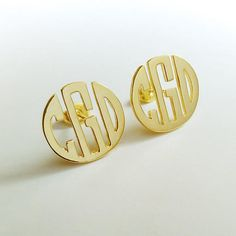 Circle Monogram Earrings,Triangle shaped earrings,Personalize Monogram Earrings,Gold Monogram Earrings,Any initial Monogram Earings Monogram Earrings, Initial Earrings, Ring Earrings, Circle Monogram, Monogram Initials, Monogram Letters, Personalized Necklace, Personalized Gifts, Girlfriends
