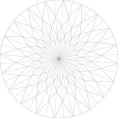 sunflower crease pattern   Flickr - Photo Sharing!