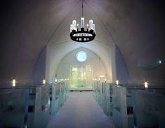 Icehotel chapel
