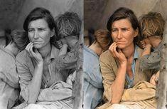 Vieilles photos célèbres colorisées photo ancienne colorise 14