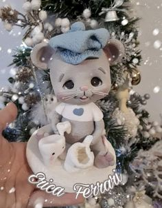 Biscuits, Pasta Flexible, Cold Porcelain, Clay Crafts, Sculpting, Teddy Bear, Toys, Creative, Fondant