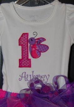 Butterfly Birthday Tutu by KaTookie on Etsy, $45.00