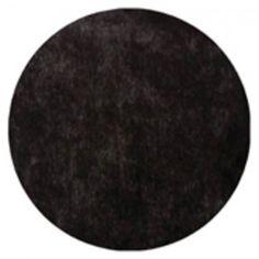 Tischset rund (50Stück) - schwarz