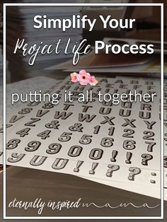 Simplify Your Project Life Process: Putting It All Together