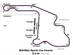 Mid Ohio Sportscar Course >> 39 Best Mid Ohio Images Mid Ohio Ohio Indy Cars