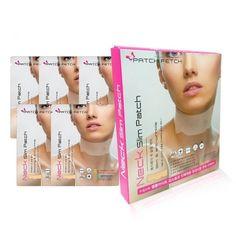 PATCH FETCH Neck Line Slim patch Hydrogel Mask 12g*5ea Slim&Anti-Wrinkle #PATCHFETCH