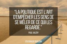 citation politique de paul valery