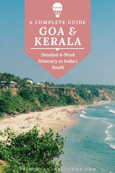 A complete travel guide and itinerary to spending a month in Kerala and Goa. Hit the many beaches while on your trip or stroll through local street food markets. Experience the colonial architecture of the regions and try the traditional Indian food. Kerala Travel, India Travel Guide, Asia Travel, Arizona Travel, Croatia Travel, Hawaii Travel, Goa India, South India, South Africa