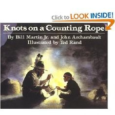 Knots on a Counting Rope (Reading Rainbow Books): Bill Martin Jr., John Archambault, Ted Rand: Make connections to The Memory String Mentor Sentences, Mentor Texts, Bill Martin, Similes And Metaphors, Star Students, Drawing Conclusions, Teaching Reading, Teaching Ideas, Reading Resources