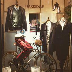 Our man bike model Il Gagà @ Harridge in Turin.