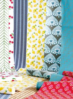 Our wallpapers are a celebration of color, pattern and the rich craft of printmaking. #forthewalls