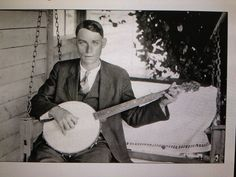 Charlie Poole of the North Carolina Ramblers fame. One of the first to record old time and early bluegrass. Dueling Banjos, Mountain Music, Album Of The Year, Music Images, Folk Music, My Favorite Music, Mixtape, Country Music, Old Photos