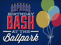 Celebrate your birthday with your favorite team!