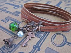 Convertible 3in1 Charm Necklace and Bracelet. by SimplyMim on Etsy
