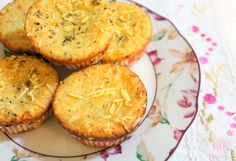Muffin de parmesão delícia